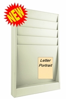 Letter Size Rack Model 174-4Sl, 4 Pocket