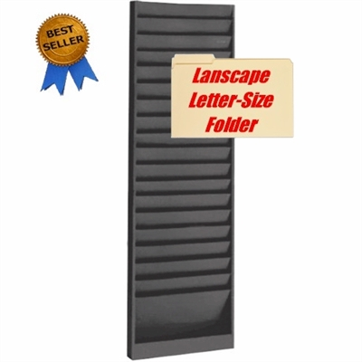 File Invoice Rack 18 Pockets 12 Quot W X 6 1 2 Quot D 800 858 7462