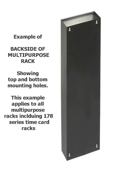 Clipboard Rack 6 Pockets 9 1 2 Quot W X 8 Quot D 800 858 7462