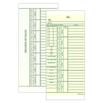 FORM 25131 Time Cards